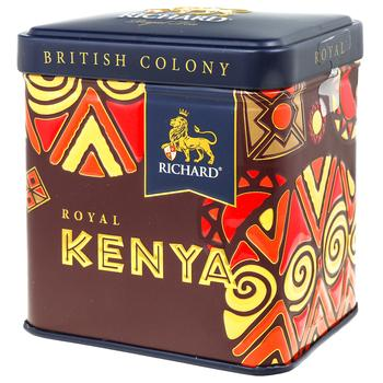 Чай черный Richard Royal Kenya ж/б 50г