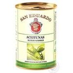 olive San eduardo green pitted 300ml