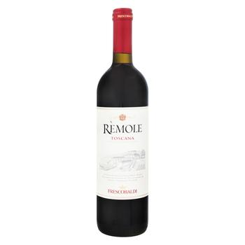 Вино Frescobaldi Remole Toscana красное сухое 12,5% 0,75л - купить, цены на Фуршет - фото 1