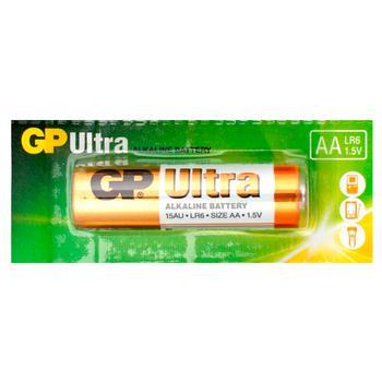 Батарейка GP Ultra LR6 AA щелочная 1шт