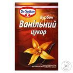 Цукор ванільний Dr.Oetker з ніжним смаком Бурбон ванілі 8г - купити, ціни на МегаМаркет - фото 1