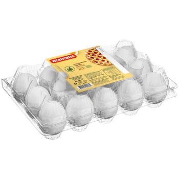 Яйця курячі Ясенсвіт Для духмяних пирогів С1 15шт - купити, ціни на Восторг - фото 1