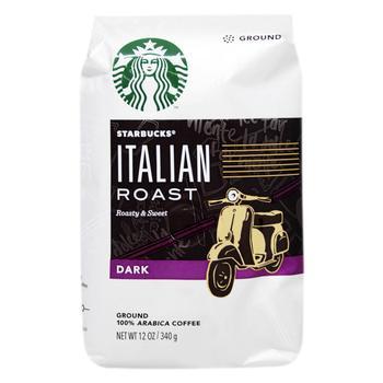 Кофе Starbucks Italian молотый темной обжарки 340г