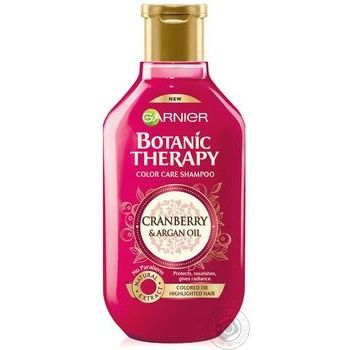 Garnier Botanic Therapy Cranberry And Argan Oil For Hair Shampoo 400ml - buy, prices for Novus - image 1