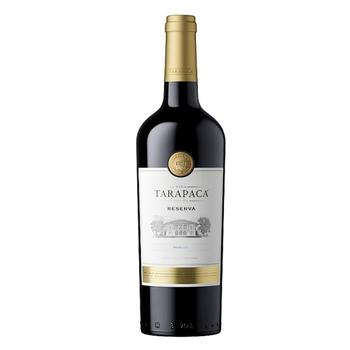 Вино Tarapaca Merlot Reserva красное сухое 14% 0,75л - купить, цены на СитиМаркет - фото 1