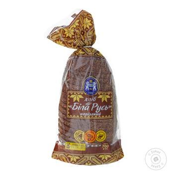 Хлеб Кулиничи Белая Русь заварной ржаной нарезанный 700г - купить, цены на Novus - фото 1