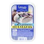 Козацький Оселедець в олії філе-шматочки Veladis 500г