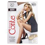 Tights Conte City natural for women 20den 2size Belarus