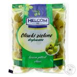 Helcom Olives Green Pitted 195g