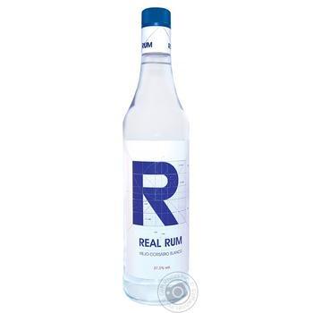 Ром Viejo Corsario Blanco Real 37,5% 0,7л - купить, цены на Ашан - фото 1