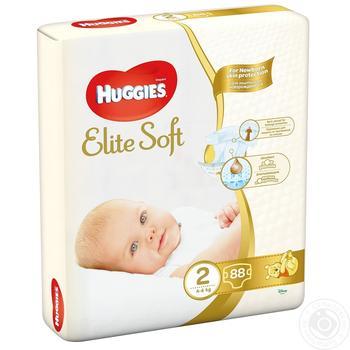 Підгузки Huggies Elite soft 4-6кг 80 шт - купити, ціни на Novus - фото 5