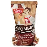Мороженое Varto Пломбир шоколадный в вафельном стаканчике 12% 65г