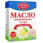 Масло N.Bavarian Cheese Экстра 81,5% 200г