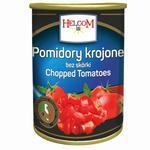Helcom Sliced Peeled Tomatoes in Their Own Juice 425ml