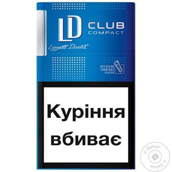 Сигарети LD Club compact Blue - купить, цены на Фуршет - фото 1