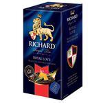 Richard Royal Love Black Tea 25pcs 50g