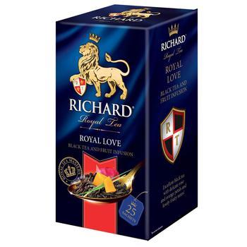 Чай черный Richard Royal Love 25шт 50г