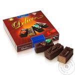 Торт Бисквит-Шоколад Delice шоколадно-вафельный 1кг