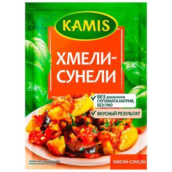 Приправа Камис Хмели-сунели 25г - купить, цены на МегаМаркет - фото 1