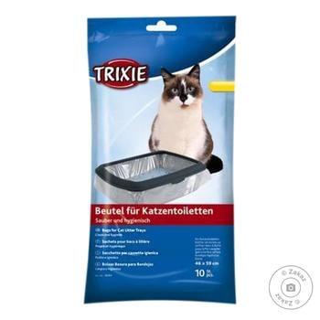 Пакети збиральні Trixie для котячих туалетів Simple'n'Clean 46x59см 10шт - купити, ціни на CітіМаркет - фото 1