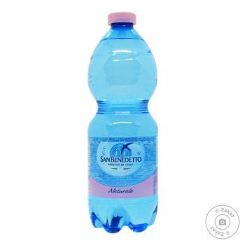 Вода Сан Бенедетто негазированная пластиковая бутылка 500мл Италия