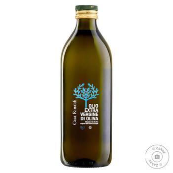 Масло Casa Rinaldi оливковое Экстра Вирджин первого холодного отжима 1л