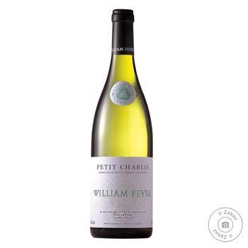 Вино Domaine William Fevre Petit Chablis біле сухе 12% 0.75л