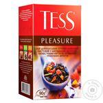 Чай черный Tess Pleasure 90г - купить, цены на Novus - фото 1