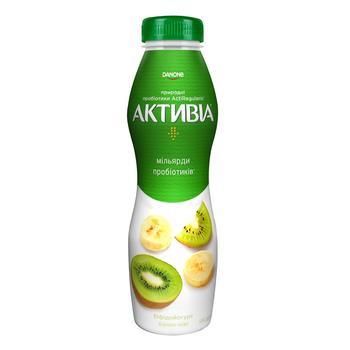 Бифидойогурт Активиа банан-киви 1,5% 580г