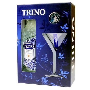 Набор Вино Трино Бьянко 1л + стакан