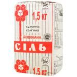 Artyomsol Iodized Stone Salt 1.5kg