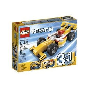 Construction toy Lego Creator Super Racer for 6 to 12 years children 121 pieces