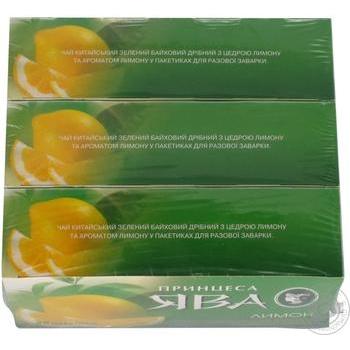 Чай зеленый Принцесса Ява лимон 25шт*1.5г - купить, цены на Восторг - фото 3