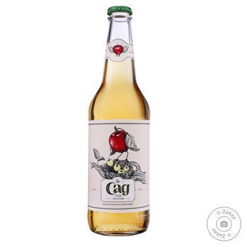Сидр де Сад яблочный 4,7% 0,45л - купить, цены на ЕКО Маркет - фото 1