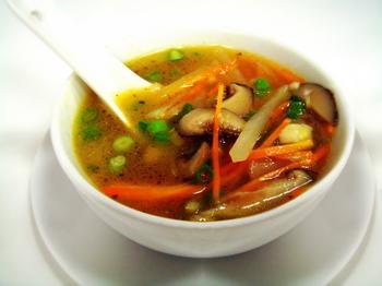 Японский грибной суп