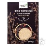 Сахар коричневый Саркара продукт нерафинированный тростниковый 500г - купить, цены на СитиМаркет - фото 1