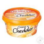 Сливочный сыр President из чеддера 55% 125г - купить, цены на МегаМаркет - фото 1