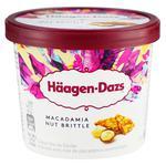 Мороженое Haagen-Dazs ванильное с хрустящими орехами макадамия 81г