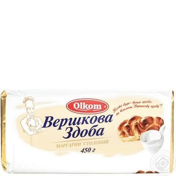 Маргарин Олком Вершкова здоба 65% 450г - купити, ціни на Ашан - фото 2