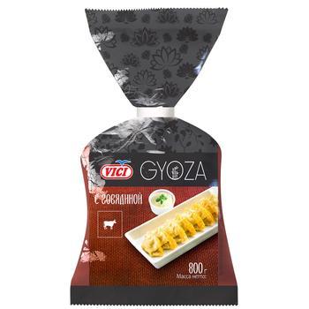 Пельмені Vici Gyoza з яловичиною 800г - купити, ціни на Varus - фото 1