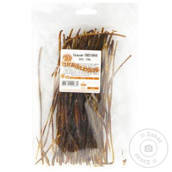 Кальмар солено-сушеный паутинка - купить, цены на Novus - фото 1