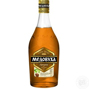 Medovukha Hrechana Vodka 40% 0,5l - buy, prices for Novus - image 1