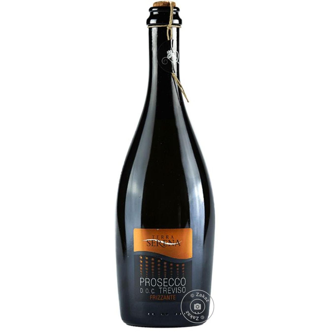 Купить 499676, Вино игристое Terra Serena Prosecco Frizante белое сухое 10.5% 0, 75л