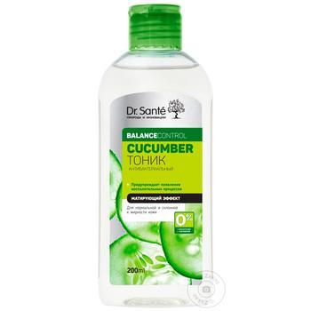Тоник Dr.Sante Cucumber антибактериальный 200мл - купить, цены на Novus - фото 1