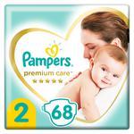 Підгузники Pampers Premium Carе New Born 2  4-8кг 68шт