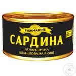 Конс Сардина Fishmarine 240 г ж/б в/о бланш Атлантична