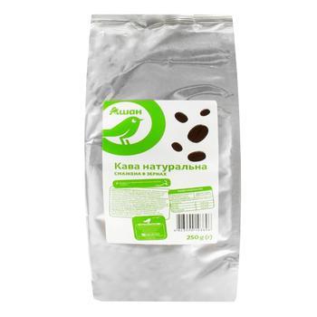 Кофе Ашан в зернах 250г - купить, цены на Ашан - фото 1