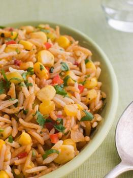 Мексиканський рисовий салат