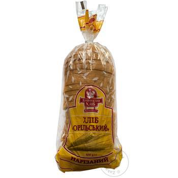 Хліб Катеринославхліб Орільський нарізний 600г - купити, ціни на Ашан - фото 1