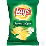 Чипсы Lay's картофельные со вкусом зеленого лука 133г